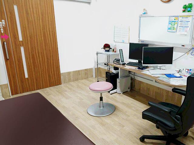 高木内科クリニック 診察室